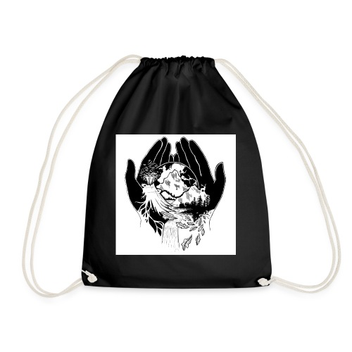 EARTH - Drawstring Bag