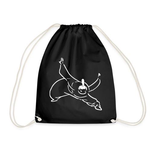 Kung Fu Monk - Drawstring Bag