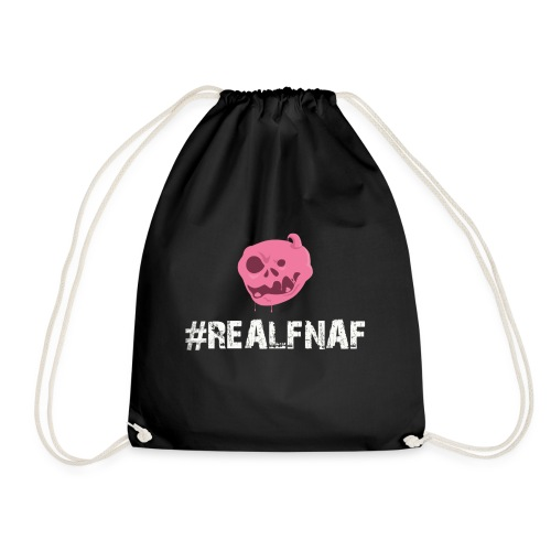 Bubblegummonsters #RealFnaf WHT - Drawstring Bag