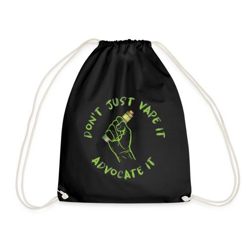 Advocate Vape - Drawstring Bag