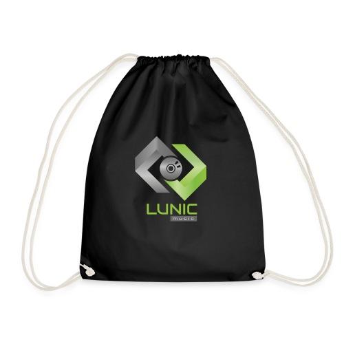Lunic Music Logo (bunt) - Turnbeutel