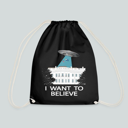 I want to believe - Anti-Trump Design - Sac de sport léger