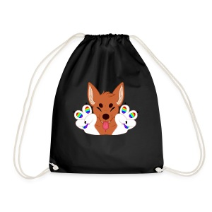 Magic's Gay Peace Fingers - Drawstring Bag