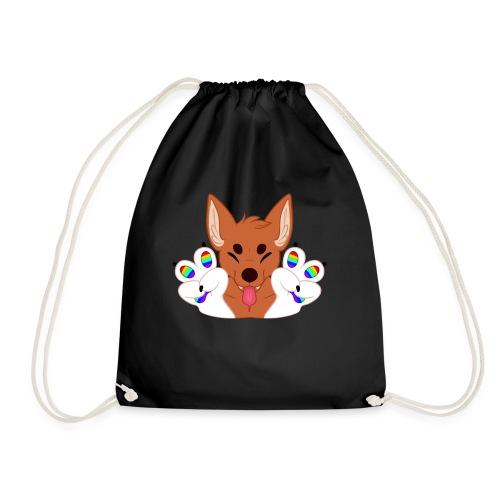 Magic's Gay Peace Fingers - Drawstring Bag