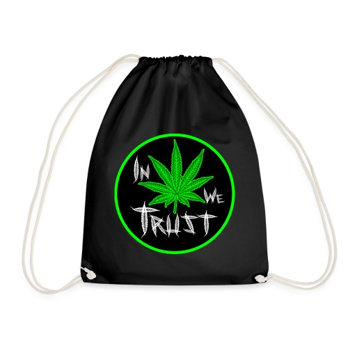 In weed we trust - Mochila saco