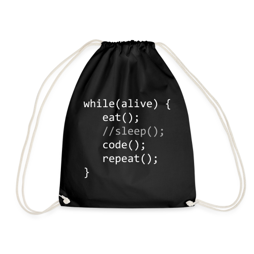 Code While Alive - Turnbeutel