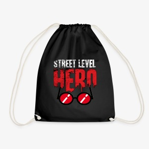 Street Level Hero - Drawstring Bag