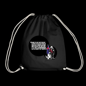 Mr Leather UK 2017 with Slogan - Drawstring Bag