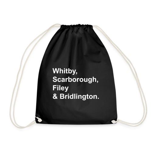 TYS Yorkshire Seaside Towns - Drawstring Bag