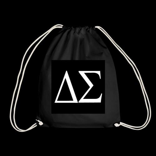 Logo blanc sur fond noir - Sac de sport léger