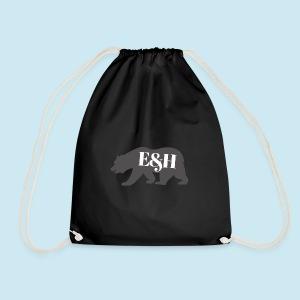Wild bear design ~ E&H Woodland Collection - Drawstring Bag