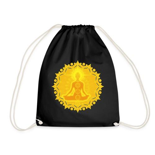 Yoga Lotus Meditation Chakren III - Turnbeutel