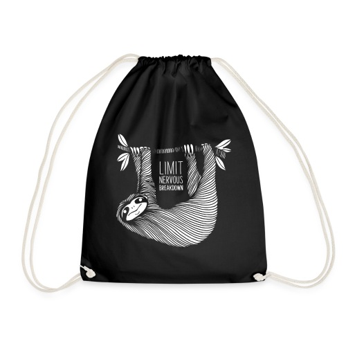 Le paresseux, animal, limit nervous breakdown - Sac de sport léger