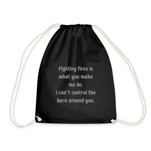 Fighting Fires | By ClareMarie - Drawstring Bag