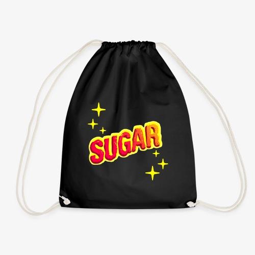 Zucker, Retro, pink, Geschenk - Turnbeutel