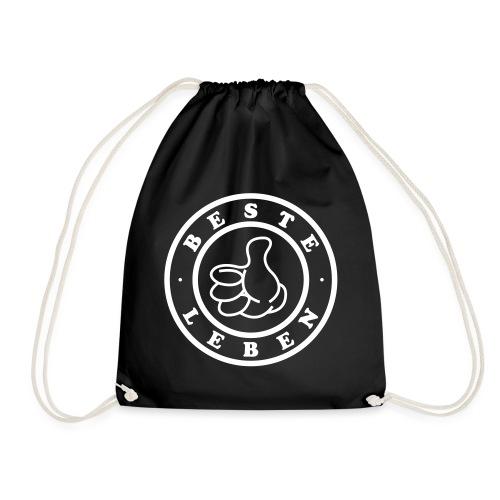 Beste Leben Logo - Turnbeutel