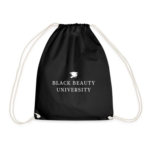 BLACK BEAUTY UNIVERSITY LOGO BLANC - Sac de sport léger