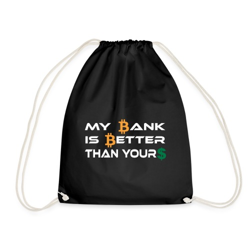 BITCOIN BANK - Turnbeutel