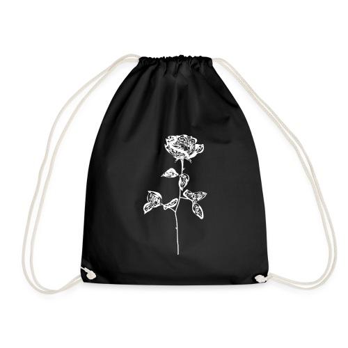 OG white rose. - Drawstring Bag