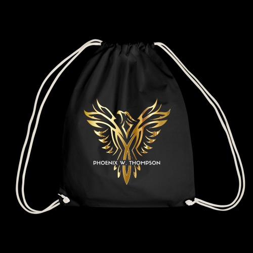 Golden Phoenix Design - Drawstring Bag