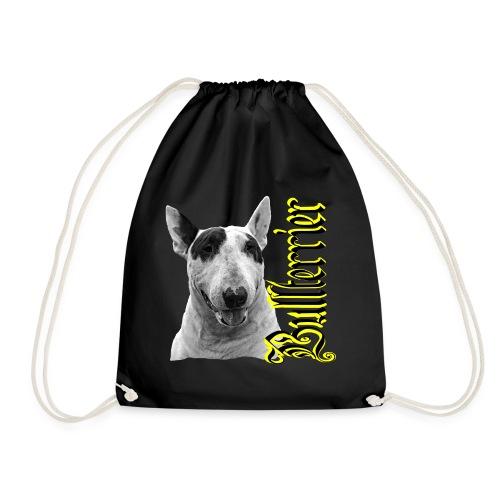Bullterrier,Bulldog,Bulldogge,Hundekopf,Terrier, - Turnbeutel