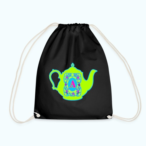 Wonders & Madness Tea Party - Drawstring Bag