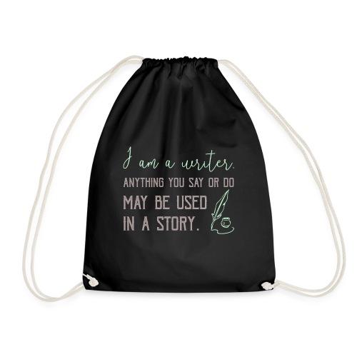 0267 History | Author | Writer | story - Drawstring Bag