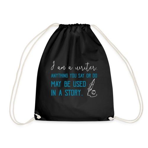 0268 Author | Writer | History | novel - Drawstring Bag