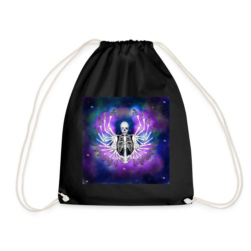 Galaxy skull - Mochila saco