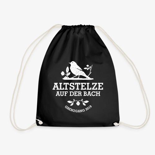 Altstelzen Logo - Weiß - Turnbeutel