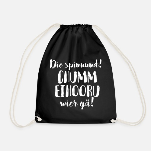 CHUMM EIHOORU, WIER GÄ! - Turnbeutel