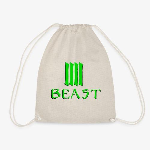 Beast Green - Drawstring Bag