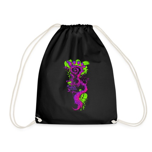 FootMoss logo - Drawstring Bag