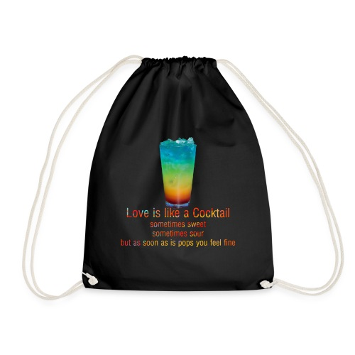 Love is like a Cocktail - Turnbeutel