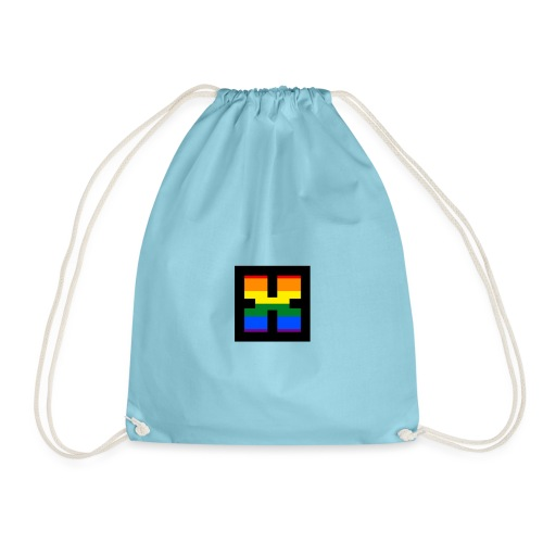 XRhodes Pride Logo 2019 - Drawstring Bag