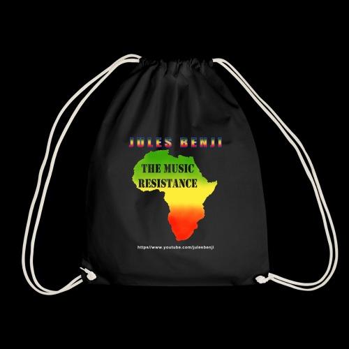 JULES BENJI & MUSIC RESISTANCE africa design - Drawstring Bag