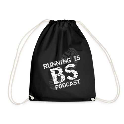 Running is BS podcast - Drawstring Bag