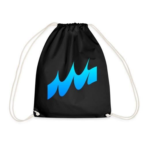 Ocean Waves or just Deep - Drawstring Bag