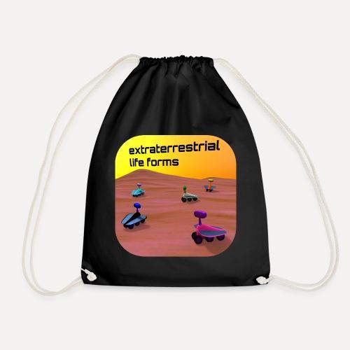 Leben auf dem Mars - Drawstring Bag