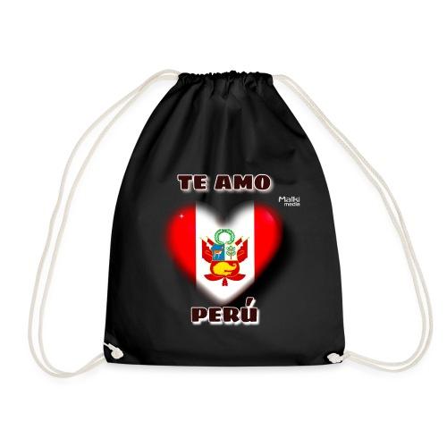 Te Amo Peru Corazon - Turnbeutel