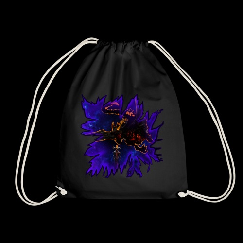Galaxy dragon - Drawstring Bag