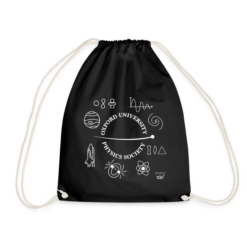 2020 OUPS Logo (Light on Dark) - Drawstring Bag