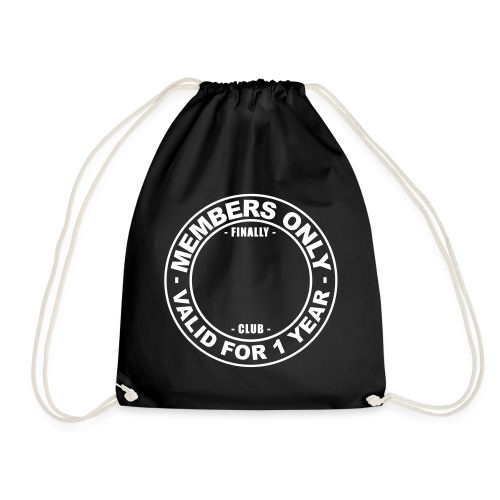 Finally XX club (template) - Drawstring Bag