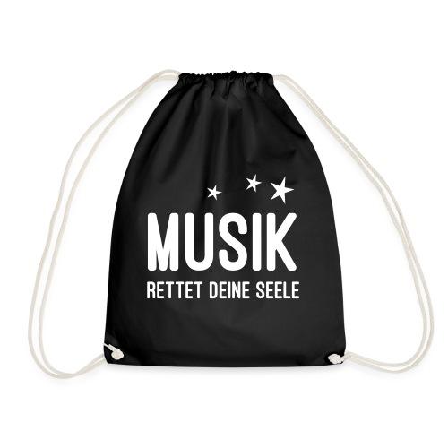 Musik rettet Deine Seele - Turnbeutel