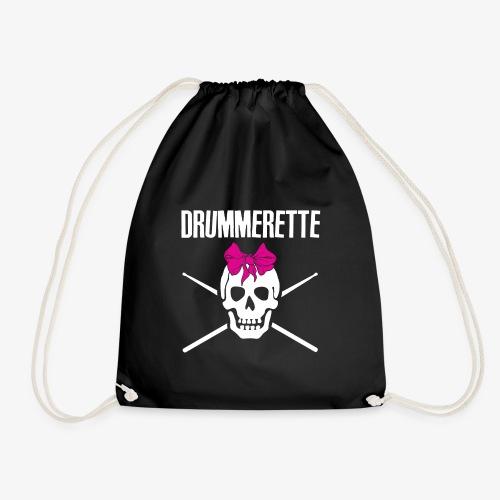 DRUMMERETTE - Turnbeutel