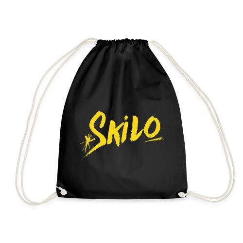 Yellow Logo - Drawstring Bag