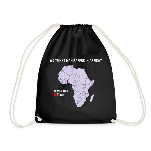 Wie trinkt man Kaffee in Afrika? - Turnbeutel