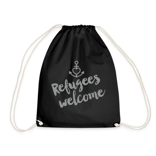 Refugees Welcome - Turnbeutel