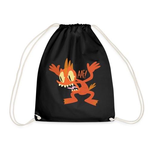 Cyril the Mutant Goldfish - Drawstring Bag