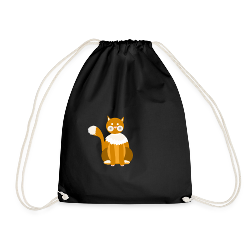 Kitty cat - Drawstring Bag